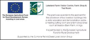 Rural Development Banner - Lakeland Farm Visitor Centre