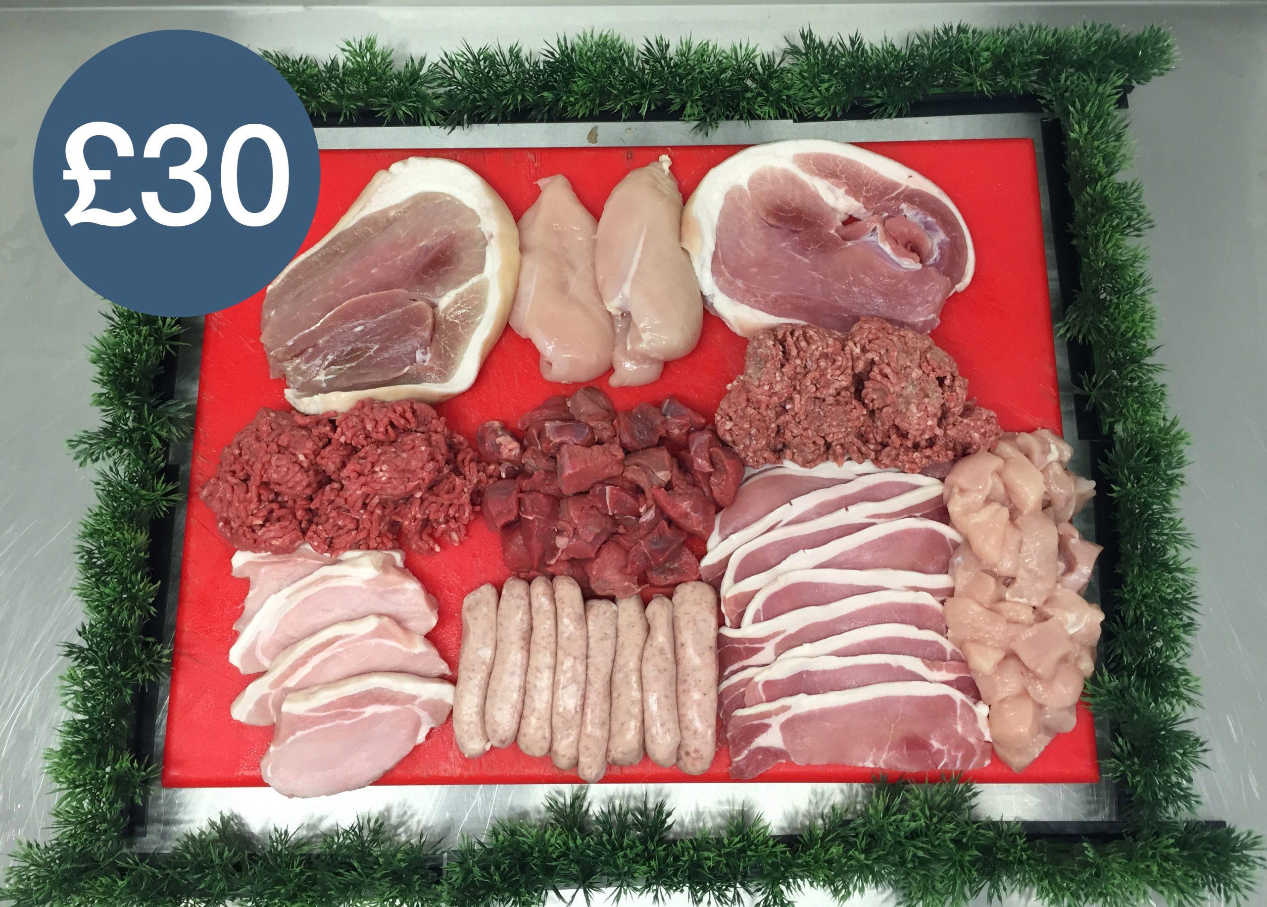 lakeland farm visitor centre - butchers counter
