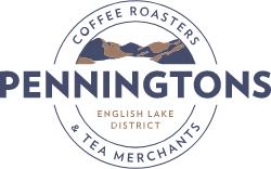 Penningtons Tea & Coffee Logo - Lakeland Farm Visitor Centre